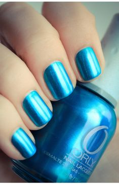 Orly - It's Up to Blue / ManucureBeaute Guest Post by PShiiit