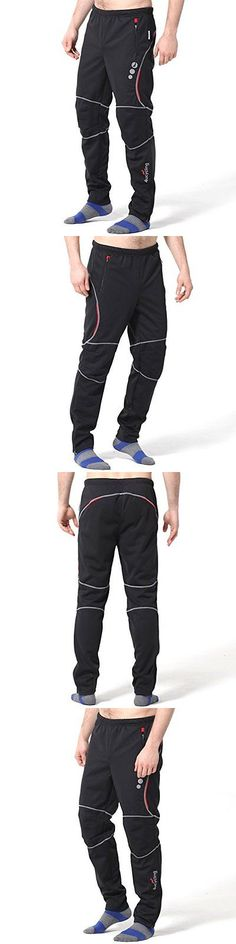Tights and Pants 177854: 4Ucycling Men S Windstopper Athletic Pants For Autumn Black Xl-Promise -> BUY IT NOW ONLY: $31.08 on eBay!