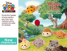 Winnie The Pooh Tsum Tsums Coming In December