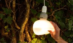 Booo Bulb by Nacho Carbonell  La lampe molle...