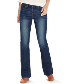 Levi's 415 Relaxed-Fit Bootcut Jeans - Blue 28 (US 6) R