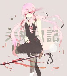 Find images and videos about anime, mirai nikki and yuno gasai on We Heart It - the app to get lost in what you love. Girls Anime, Manga Girl, Asuna, Art Anime, Manga Anime, Vocaloid, Yuno Mirai Nikki, Mirai Nikki Future Diary, Chibi