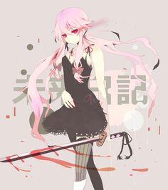 Anime girl - épée