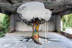 Forced Perspective Street Art By TSF Crew