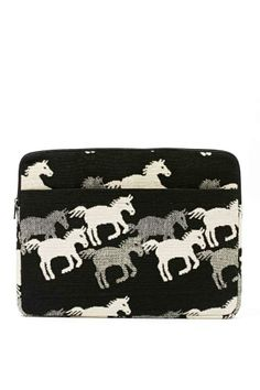 Horsing Around Laptop Case