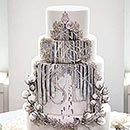Wow! I want to have another wedding just to get this wedding cake!~