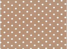 Jersey Little Darling Punkte 7mm beige