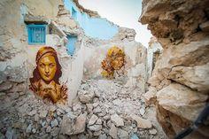 B-Toy (Spain) #streetart #erriadh #djerba #tunisia #stencil