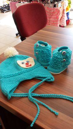 erkek bebek için şapka, bot