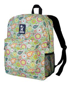 Take a look at this Green Spring Bloom Crackerjack Backpack by Wildkin on today! Hippy Fashion, Kids Fashion, Fashion Ideas, Paisley Flower, Hiking With Kids, Spring Blooms, Girl Backpacks, Girl Gifts, School Bags