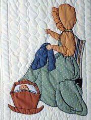 Margaret, Variation #4. Gentlewomen Bonnet Girls Relatives & Friends The Rock-A-By Pattern measures 15 x 22. Price $3.50.