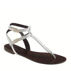 Tabbie T-strap sandals  J Crew of course :)