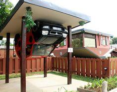 Zo staat uw wagen zeker droog! #Howtoparkacar