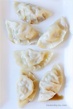 Potstickers Recipe (Chinese Dumplings) - Potstickers is the direct English translation of 锅贴, pronounced as guo tie. In Japan, these pan-fried Chinese dumplings are called gyoza. #dumpling #Chinese #pork