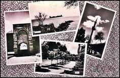 Mersin -TARSUS kolaj yapılmış bir kartpostalı Polaroid Film, Waves, Artwork, Work Of Art, Wave, Beach Waves