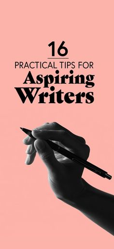 16 Practical Tips For Anyone Who Wants To Write A Book writing tips Creative Writing Tips, Book Writing Tips, Writing Process, Writing Resources, Writing Help, Writing Skills, Start Writing, Writing Workshop, Creative Writing Inspiration