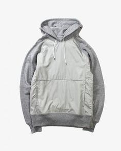 Maiden Noire Taffeta Hood Hoodie Outfit, Sweater Hoodie, Brand Collection, Boys Wear, Sport Wear, Menswear, Winter, Mens Fashion, Hoodies