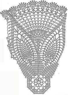 Crochet Table Topper, Crochet Tablecloth Pattern, Crochet Doily Diagram, Crochet Cushions, Crochet Doily Patterns, Crochet Art, Vintage Crochet, Crochet Doilies, Crochet Stitches