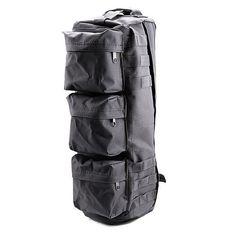 NinjApparel - Tactical Shoulder Bag - Black Side View