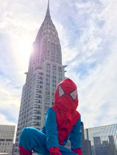 #spiderman #ChryslerBuilding