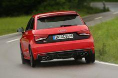 Audi S1, Heckansicht