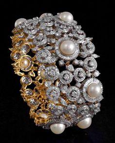Bracelet by Mahesh Notandass Jewelry Box, Jewellery, Fantasy Jewelry, Jewelry Design, Brooch, Watches, Bracelet, Bangles, Jewellery Box