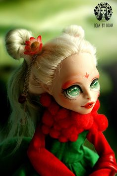 Diuha — And another one amazing doll - swamp dragon. She...