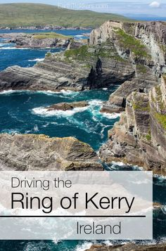 Ring of Kerry, Ireland. Best things to see on the drive. #ringofkerry #ireland #roadtrip