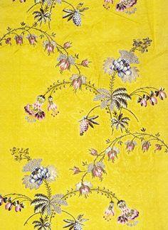 Huguenot Spitalfields Silk  1700s London