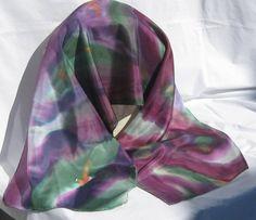 Fashion Accessories ScarvesSilk ScarfHand by MysticSilks on Etsy, $40.00