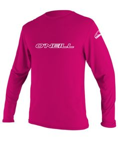 Introducing ONeill Wetsuits UV Sun Protection Youth Basic Long Sleeve Sun Shirt Rash Guard Tee Watermelon 8. Get Your Ladies Products Here and follow us for more updates!