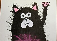 Splat the Cat art project to accompany the books