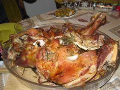 Cabrito asado Ver receta: http://www.mis-recetas.org/recetas/show/1051-cabrito-asado