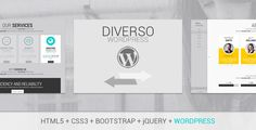 Diverso - Bootstrap Wordpress Sliding Pages