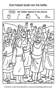deborah judges bible coloring pages | 1000+ images about Stories OT: Deborah on Pinterest ...