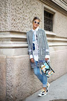 Варианты, с чем модно носить джинсы в 2016 году