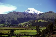 Cayambe - where the Peace Corps training began.