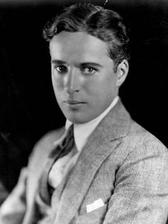 Charlie Chaplin without makeup.