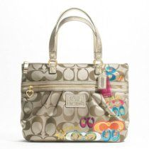 100% Authentic Coach Daisy Poppy C Applique Tote Shoulder Bag From Coach - Bags or Shoes Shop