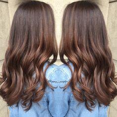 Milk chocolate brunette hair by @amy_ziegler #versatilestrands#askforamy