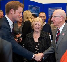 Prince Harry opens the Royal British Legion Centre for Blast Injury Studies