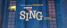 Official movie site for Sing, starring Matthew McConaughey, Reese Witherspoon, & Scarlett Johansson. Watch the trailer here. Own It on Digital HD Available on Blu-ray & DVD Family Movie Night, Family Movies, Movie Tickets, Buy Tickets, Sing Movie 2016, Illumination Sing, New Movies In Theaters, Illumination Entertainment, Musicals
