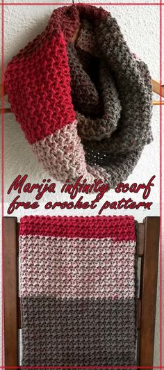 As you know my dear friend Marija asked me to make her a slouchy hat! I made the hat and I want to surprise her with scarf  She is going on a ski trip with her family in January and I want her to be warm  This scarf is so soft and thick …