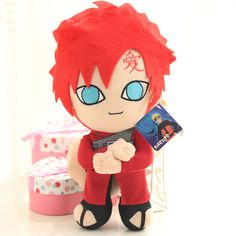 Naruto Plushies - Gaara Plush Stuffed Toy