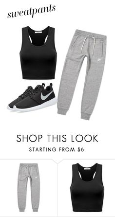 """""""Untitled #285"""" by jovanaaxx on Polyvore featuring NIKE"""