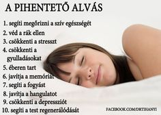 A pihentető alvás | Socialhealth Healthy Lifestyle, Life Hacks, Healthy Living, Life Quotes, Health Fitness, Therapy, Beauty, Food, Haircuts