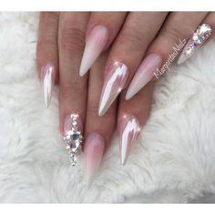 "Margarita on Instagram: ""✨✨ ———————————————————–—————— #nails #chromenails #nailart #MargaritasNailz #nailfashion #vetrogel #chrome#almondnails…"""