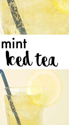 MINT ICE TEA | MINTTUJÄÄTEE Mint Iced Tea, Cantaloupe, Fruit, Recipes, Food, Meal, The Fruit, Food Recipes, Essen