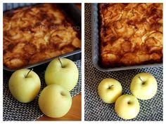 Clafoutis aux pommes golden