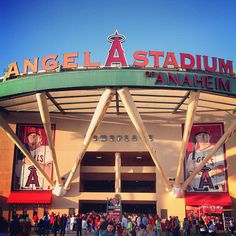 Tour the Angel Stadium of Anaheim in Anaheim, CA  TO DO: - visit the Angels dugout and hit the punching bag - visit the press conference room and visiting team's clubhouse  Tuesdays, Wednesdays, ad Fridays except during Angels home games and special events 10:30am, 12:30pm, and 2:30pm $5 - $7